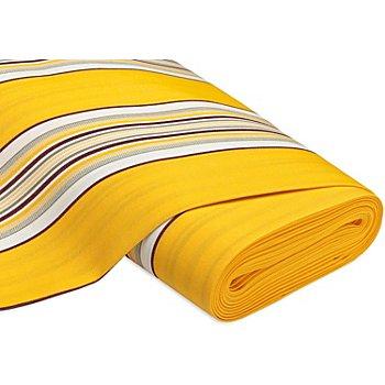 Allround-Gewebe 'Madrid Streifen', gelb-color