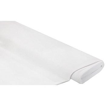 Tissu velours nicky ' Supersoft', blanc