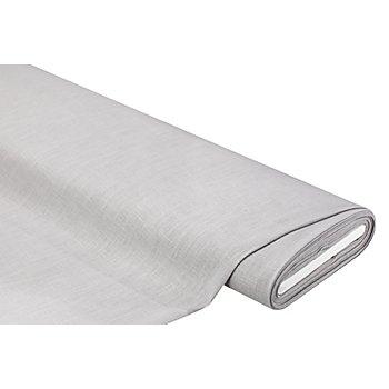 Tissu lin 'naturel', gris