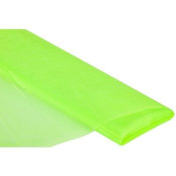 Tissu organza 'Delhi', vert fluo