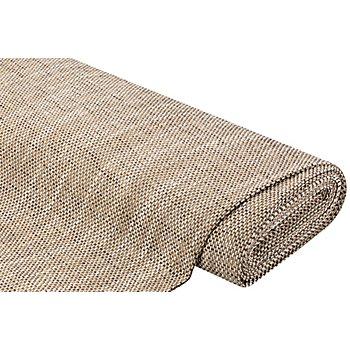Tissu d´ameublement 'Rustica', marron/écru