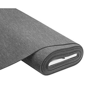 Textilfilz, Stärke 4 mm, grau-meliert
