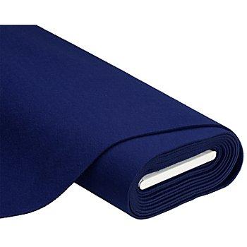 Textilfilz, Stärke 4 mm, dunkelblau