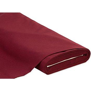 Tissu coton 'Lisa', bordeaux