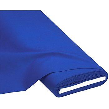 Tissu coton 'Lisa', bleu roi