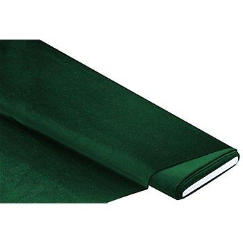 Baumwollsamt 'Premium', dunkelgrün