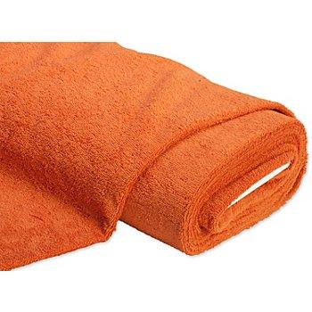 Tissu éponge 'Relax', terracotta