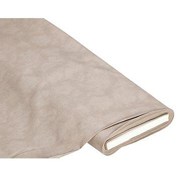 Tissu coton moiré, taupe