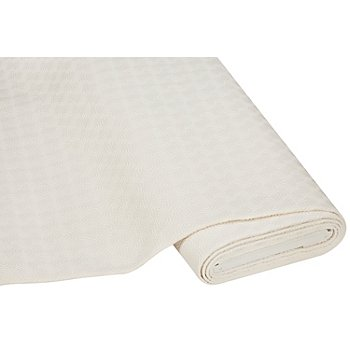 Tissu sous-nappe 'motif gaufré', écru