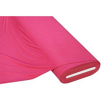 Tissu jersey en viscose 'Basic', rose vif