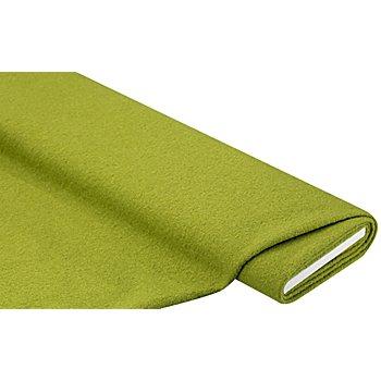 Mantelstoff 'Peter' aus reiner Wolle, kiwi