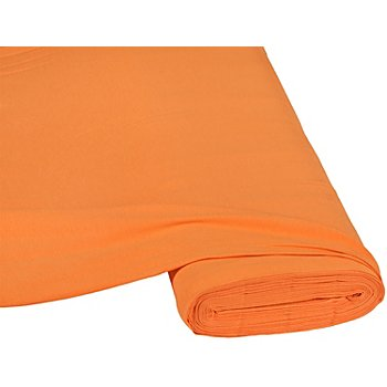 Tissu jersey en coton 'basic', orange