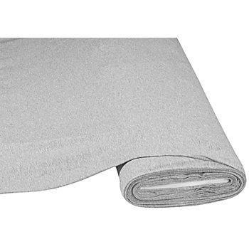 Tissu jersey en coton 'basic', gris chiné