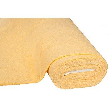 Tissu éponge 'Relax', jaune soleil