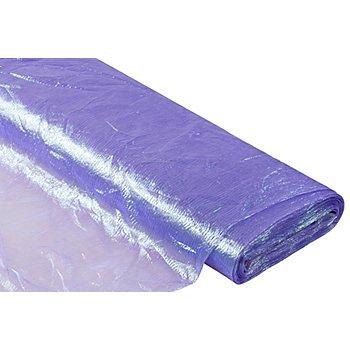 Tissu organza 'conte de fées', violet/vert