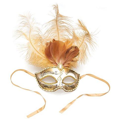 """Image of Maske """"Venezia"""", gold"""