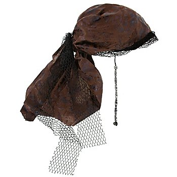 Bandana de pirate, marron
