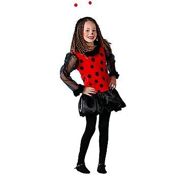 Marienkäfer Kleidchen für Kinder