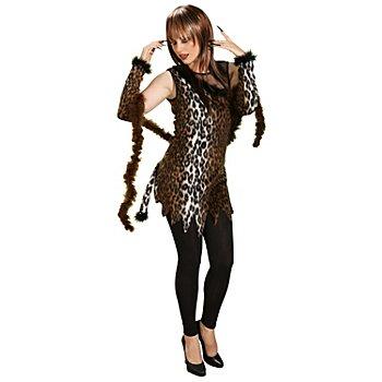 Kleid 'Leoparden-Lady'