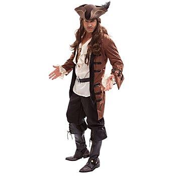 Piratenjacke, braun/schwarz