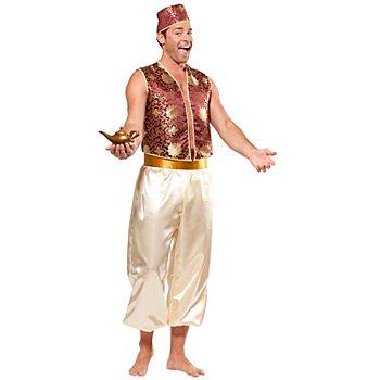 Déguisement 'prince oriental', écru/bordeaux