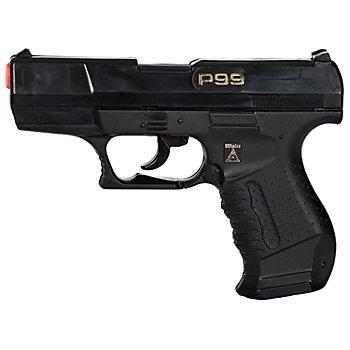 Spielzeugpistole Agent, schwarz