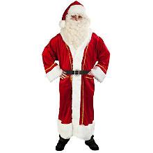 Déguisement Père Noël, rouge/blanc