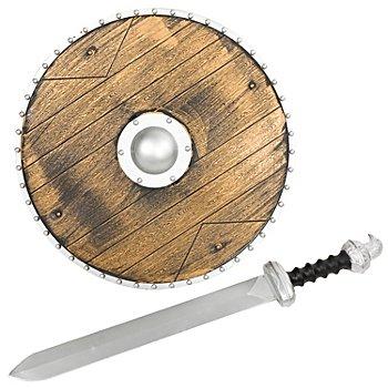 Wikinger-Set 'Schild & Schwert'