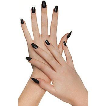 FANTASY 20er-Pack Fingernägel, schwarz
