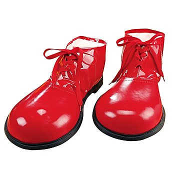 Chaussures de clown, rouge