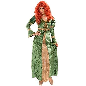 Kostüm 'Burgfräulein', grün