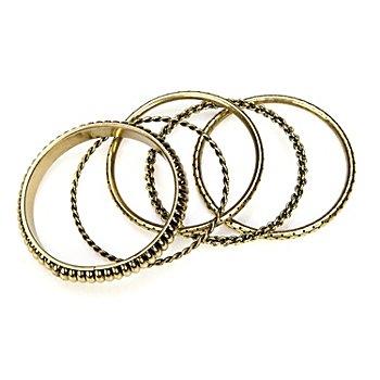 Bracelets, couleur or