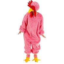 Crazy Chicken-Overall, pink