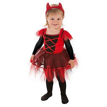 Déguisement 'petit diable' pour enfants, rouge/noir