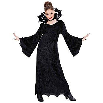 Robe 'araignée' pour enfants, noir
