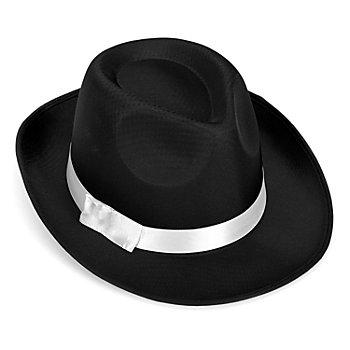 Mafiosi Hut, schwarz