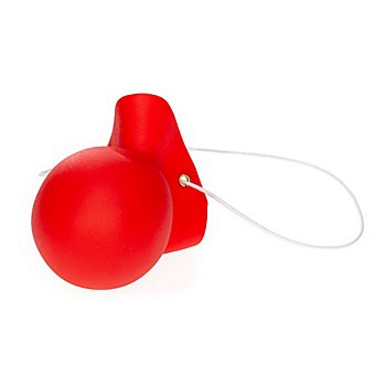 Nez de clown sonore, rouge