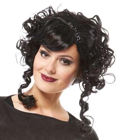 Karneval Klamotten Kostüm Perücke Rokoko Graf Zubehör Fasching Karneval