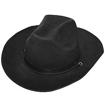 Cowboyhut 'Buffalo', schwarz