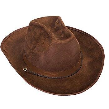 Chapeau de cowboy 'Buffalo', marron
