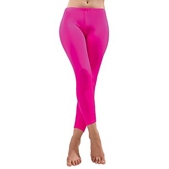 Leggings, neonpink