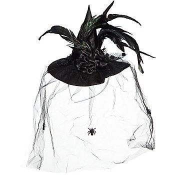 Mini-chapeau, noir