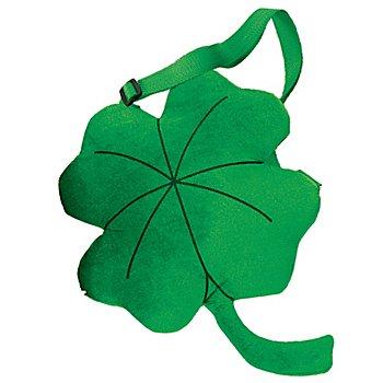 buttinette Tasche Kleeblatt, grün