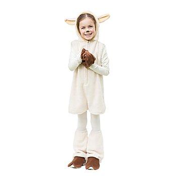 buttinette Schaf Kostüm für Kinder, natur