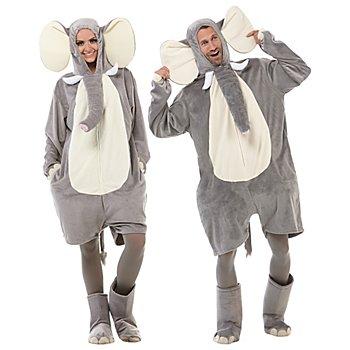 buttinette Elefantenkostüm Unisex