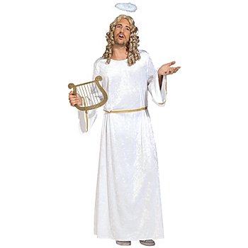 Robe 'ange' homme, blanc