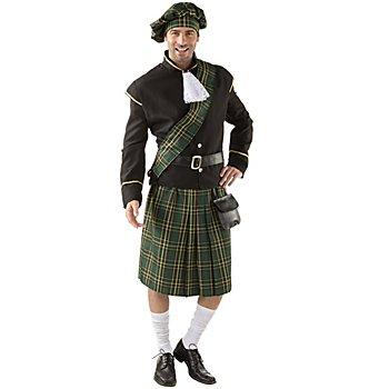Déguisement 'écossais', vert