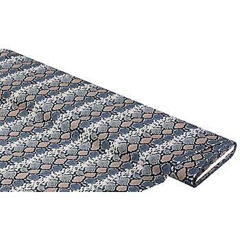 Baumwollstoff-Digitaldruck 'Schlange Ria'