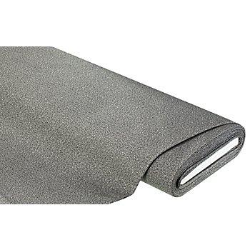 Möbelstoff 'Flanell-Fischgrät', grau