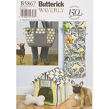 Butterick Schnitt B5867 'Tier-Ausstattung'
